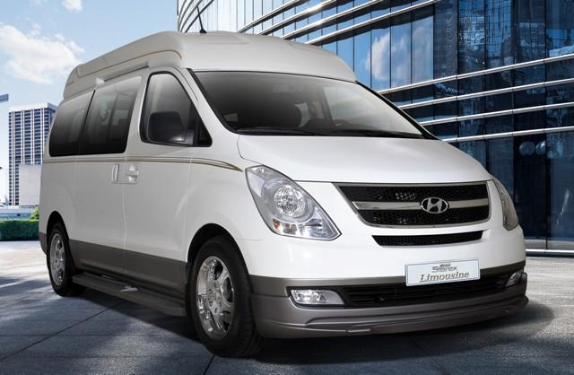 """Дизельный микроавтобус из Кореи Hyndai Grand может стать заменой маршруткам """"Газель"""""""