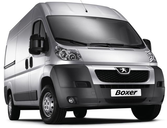 Peugeot Boxer - коммерческий автомобиль для перевозок