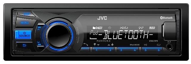Бюджетная автомагнитола JVC