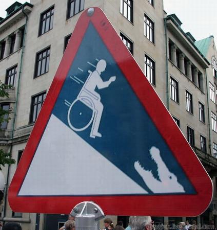 Знак, предупреждающий о возможно нападения крокодилов