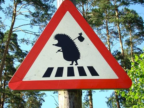 Шведский дорожный указатель