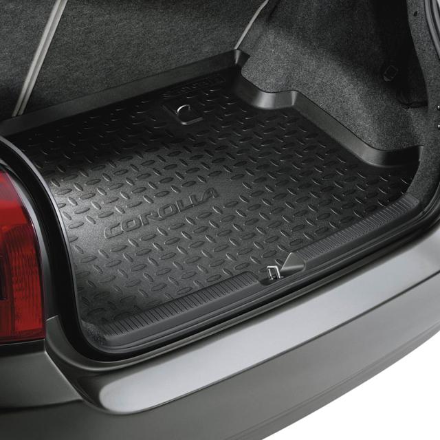 Багажник автомобиля Toyota Corolla