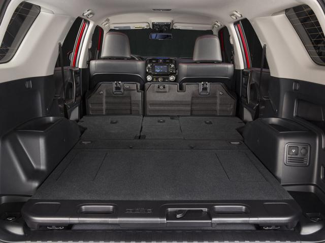 Багажное отделение автомобиля Тойота Рав 4