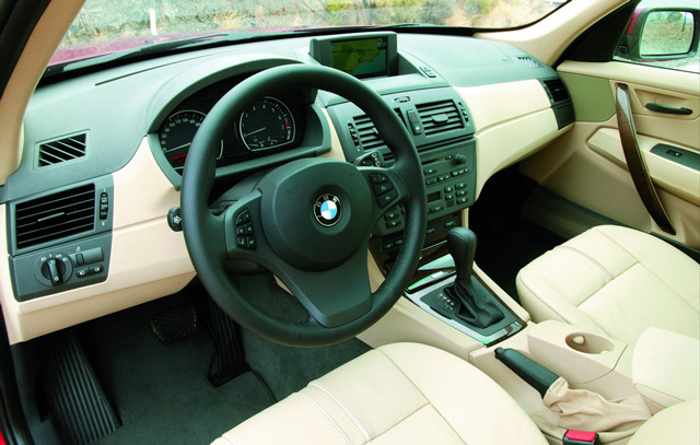Салон автомобиля БМВ Х3