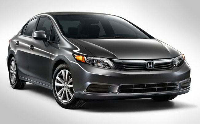 Автомобиль Honda Civic 2012