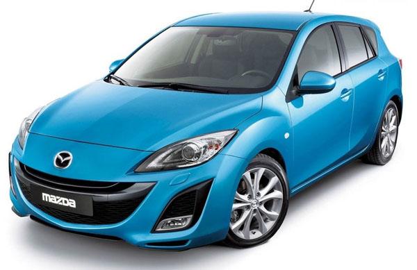 Mazda 3 второго поколения в кузове хэтчбек