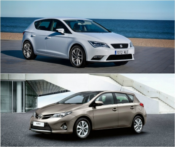 Сравнение Toyota Auris и Seat Leon
