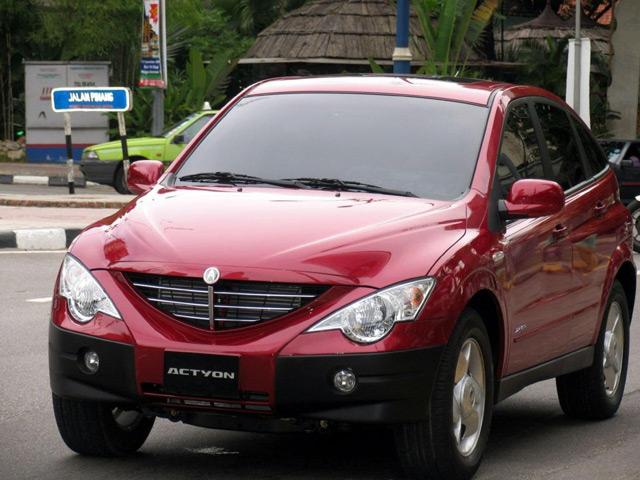 Автомобиль СангЙонг Актион