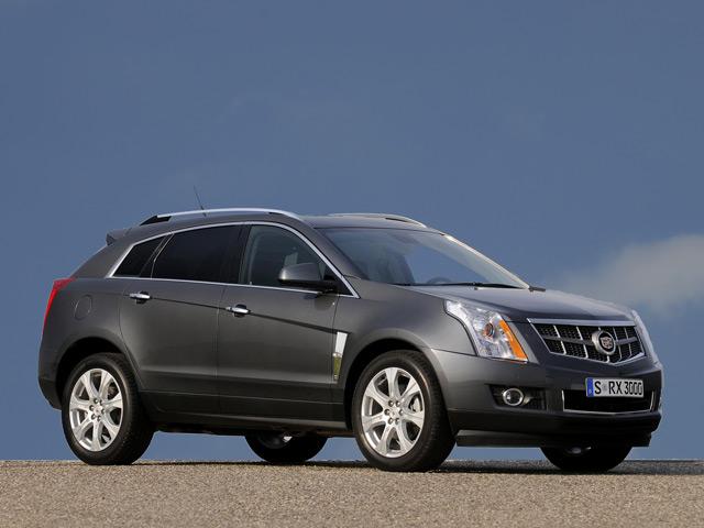 Автомобиль Cadillac SRX: вид сбоку