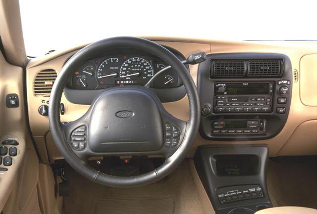 Руль и приборная панель автомобиля Форд Эксплорер