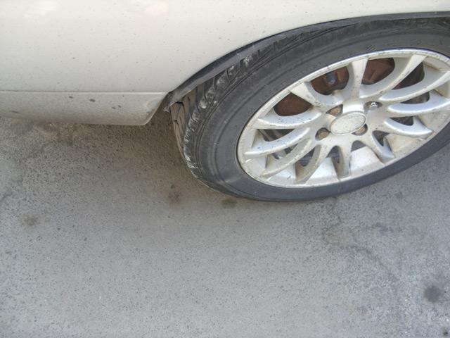 На наших дорогах колёса подвергаются большой нагрузке