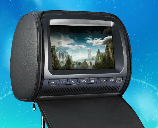 Подголовник с монитором«Forzen FZ9009D»