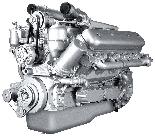 Дизельный двигатель внутреннего сгорания