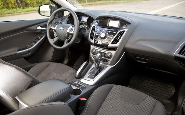 Салон автомобиля Ford Focus Wagon