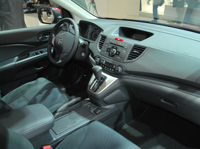 Салон автомобиля Honda CR-V