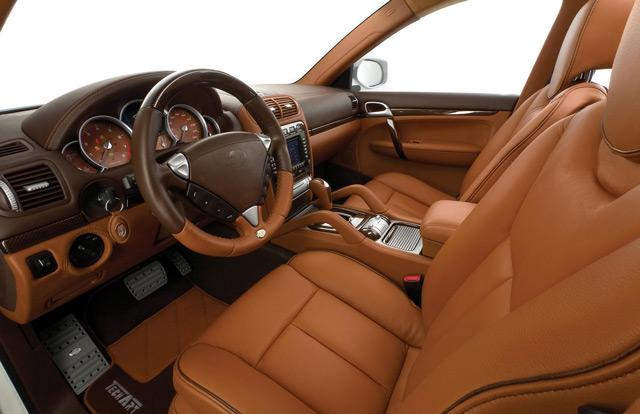 Салон автомобиля Porsche Cayenne