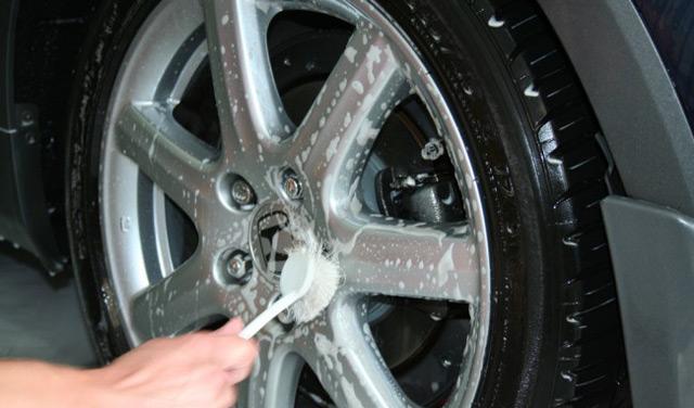Обработка дисков автомобиля