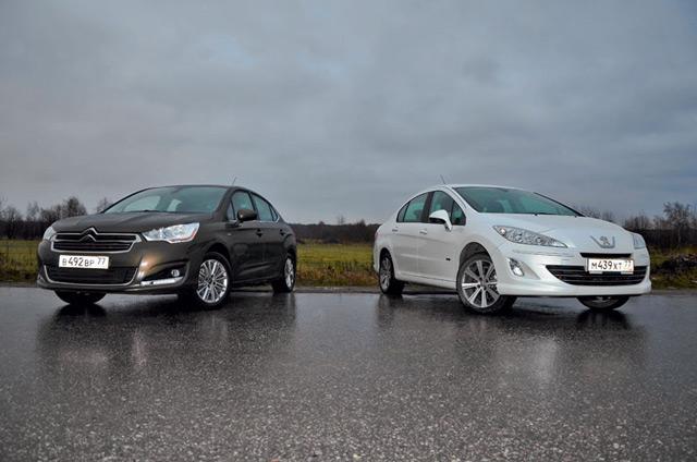 Французские автомобили Peugeot 408 и Citroen C4 – какой же лучше?