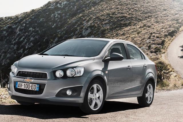 Автомобиль ChevroletAveo отличается особым агрессивным внешним видом