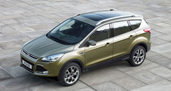 Автомобиль Ford Kuga, несмотря на невзрачную внешность, имеет достойные технические параметры для своего сегмента