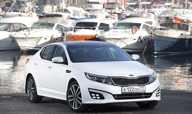Автомобиль KIA Optima – типичный седан бизнес-класса