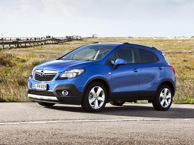 Opel Mokka - этот немецкий внедорожник придётся по душе каждой девушке