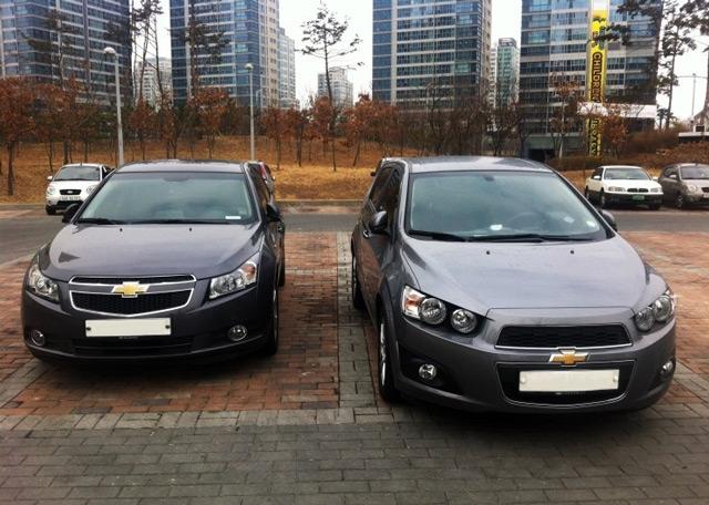 Автомобили в кузове хэтчбек Chevrolet Aveo и Chevrolet Cruze – что же выбрать?