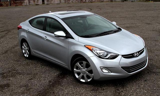 В автомобиле Hyundai Elantra было воплощено множество новых дизайнерских решений
