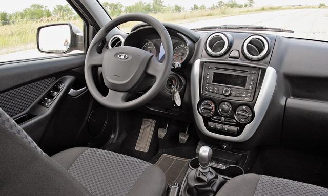 В салонеLada Granta учтены многие ошибки, которые допускали конструкторы АвтоВАЗа в других моделях