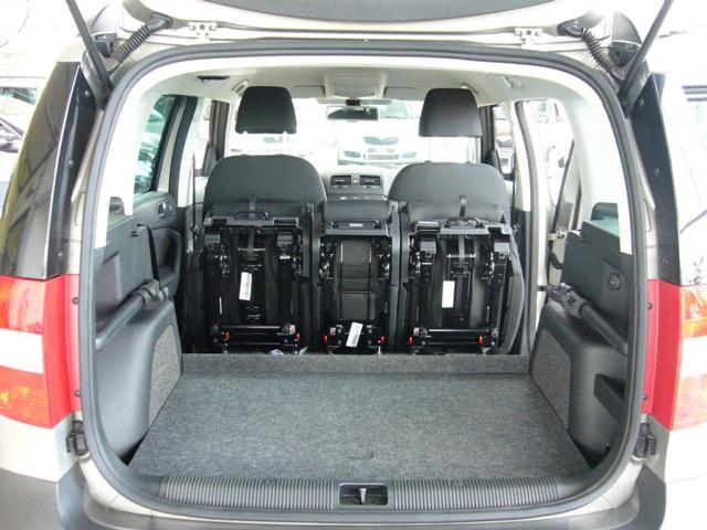 БагажникŠkoda Yeti более практичен в плане перевозки больших грузов