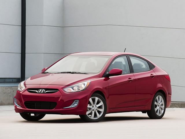 Внешний вид автомобиляHyundai Accent