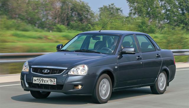 Внешний вид автомобиляLADA Priora