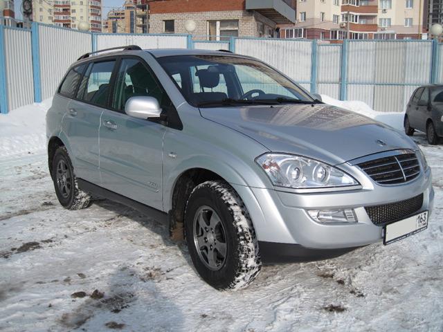 Внешний вид автомобиляSsangYong Kyron