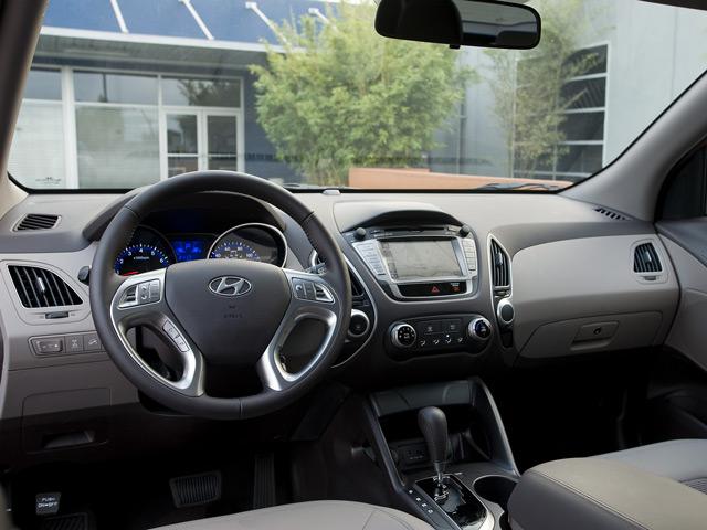 Салон Hyundai Tucson придётся по нраву людям старой закалки
