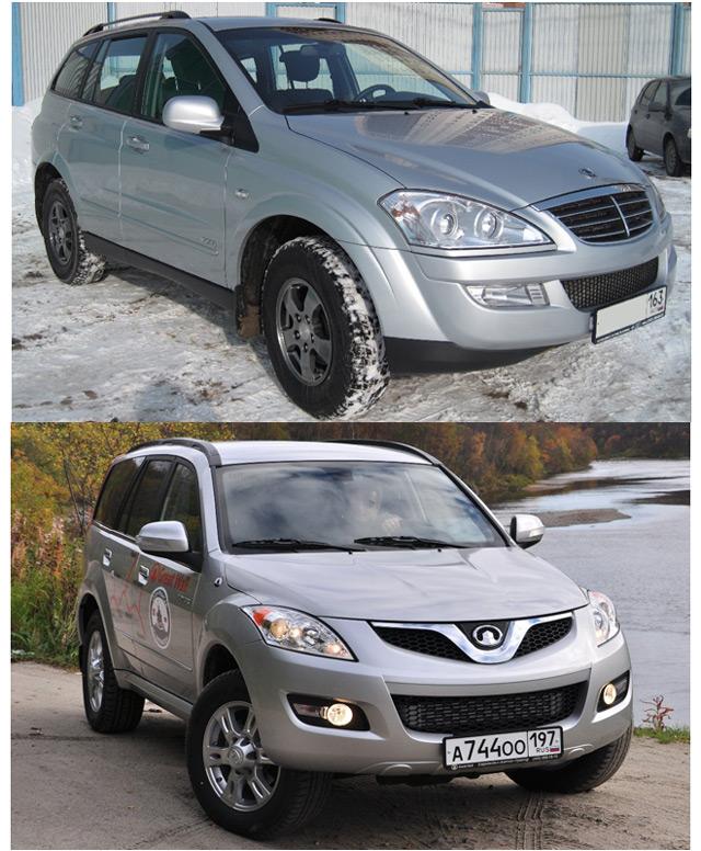 Автомобили Great Wall Hover H5 и SsangYong Kyron -современные внедорожники от азиатских производителей