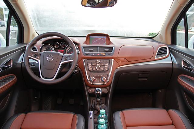 Каждому автомобилисту придётся по душе водительское кресло автомобиля Opel Mokka