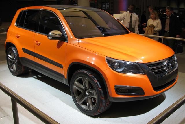 Внешний вид автомобиляVolkswagen Tiguan