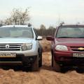 Тестовый обзор двух внедорожных конкурентов -Renault Duster и Chevrolet Niva