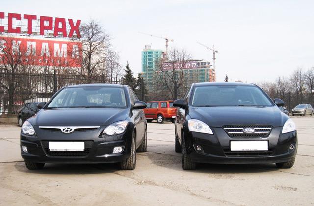 Хэтчбеки со схожими параметрамиKIA Ceed и Hyundai i30