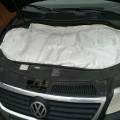 Автоодеяло позволяет сохранять тепло двигателя в зимнее время