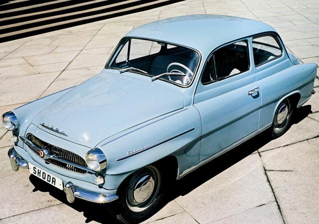 Skoda Octavia 1959 года