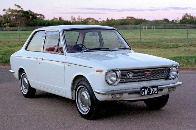 Toyota Corolla 1966 года