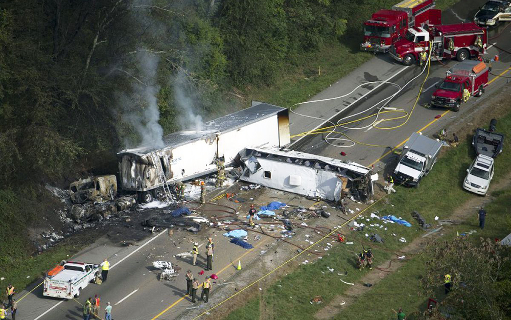 Авария в Теннесси 2002 год