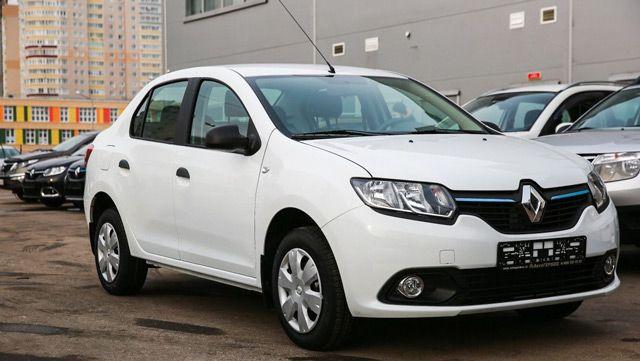 Внешний вид автомобиля Renault Logan