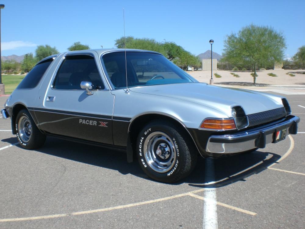 Американское авто AMC Pacer
