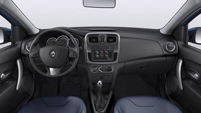 В салонеавтомобиля Renault Sandero