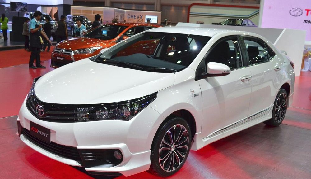 Внешний вид автомобиляToyota Corolla