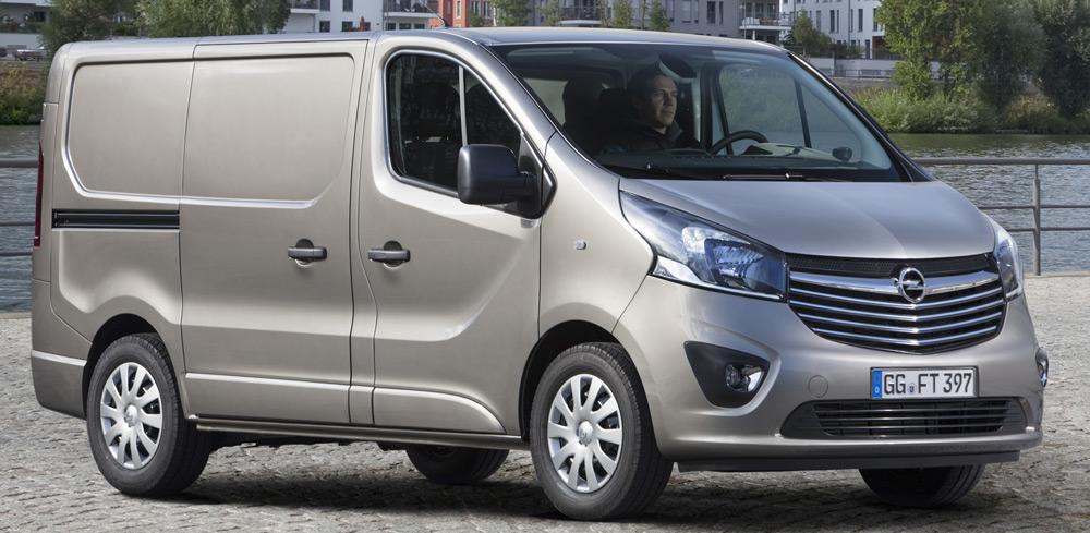 Внешний вид автомобиляOpel Vivaro