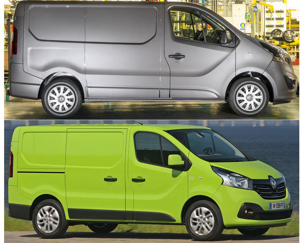 Opel Vivaro и Renault Trafic