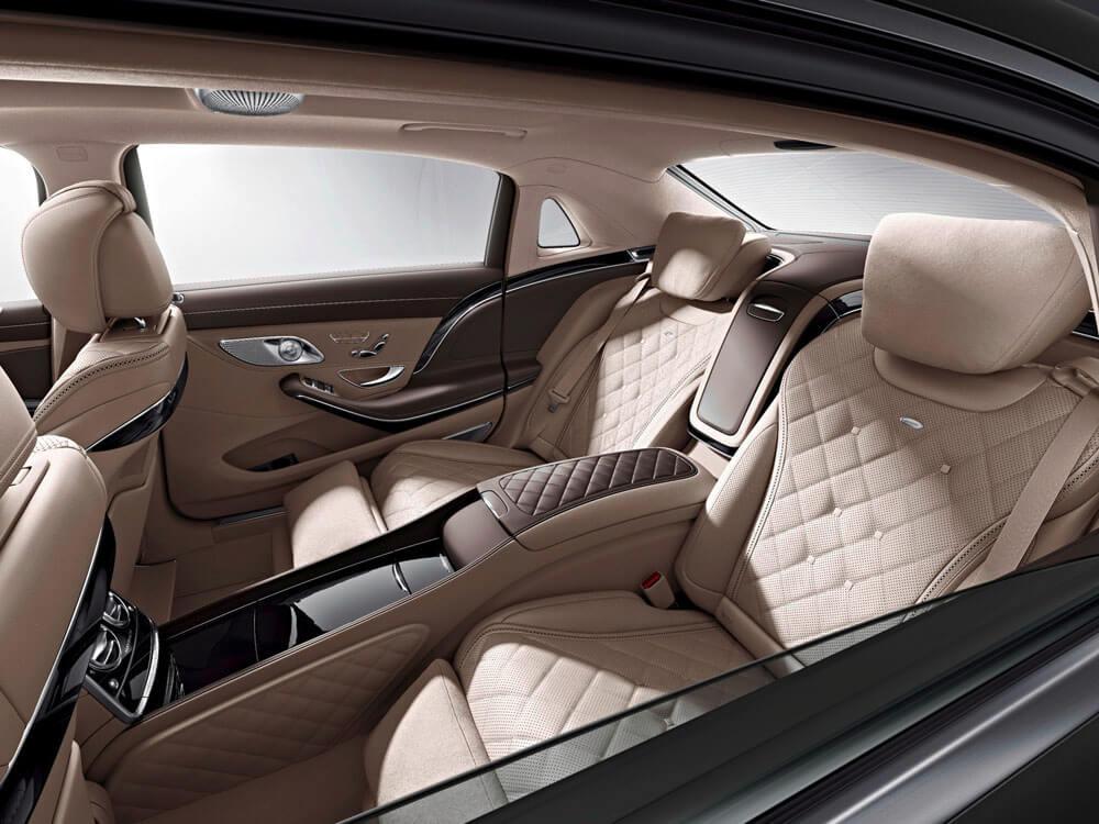 Mercedes-Maybach S600 задний ряд